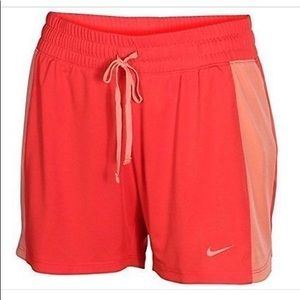NWT Nike: Size Small Red & Coral Sports Shorts